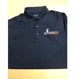 DPF Men Polo Shirts (Medium) Black