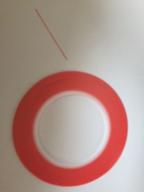 Adhesive Red Tape (1mm)