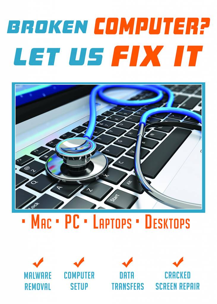 20 x 28 Poster Computer Fix