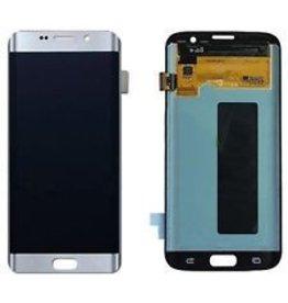 S7 Edge Silver LCD W/O