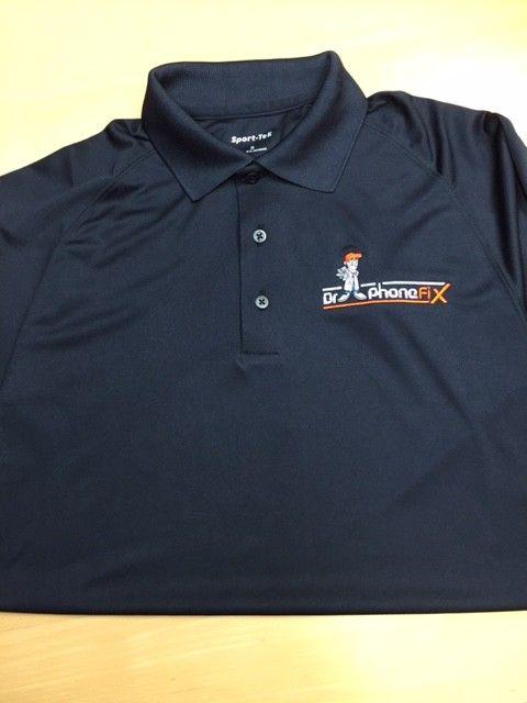 DPF Men Polo Shirt (XXXLarge) Black