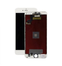 iP6S+ White Digitizer/LCD