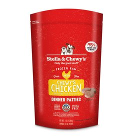 Stella & Chewy's Stella & Chewy's Raw Frozen Chicken Dinner Patties for Dogs 3LB