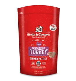 Stella & Chewy's Stella & Chewy's Raw Frozen Turkey Dinner Patties for Dogs 3LB