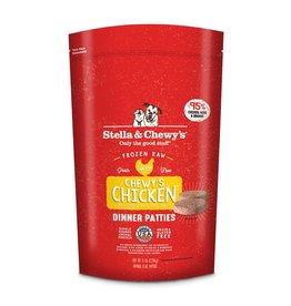 Stella & Chewy's Chicken Raw Frozen Dinner Patties for Dogs 6lb