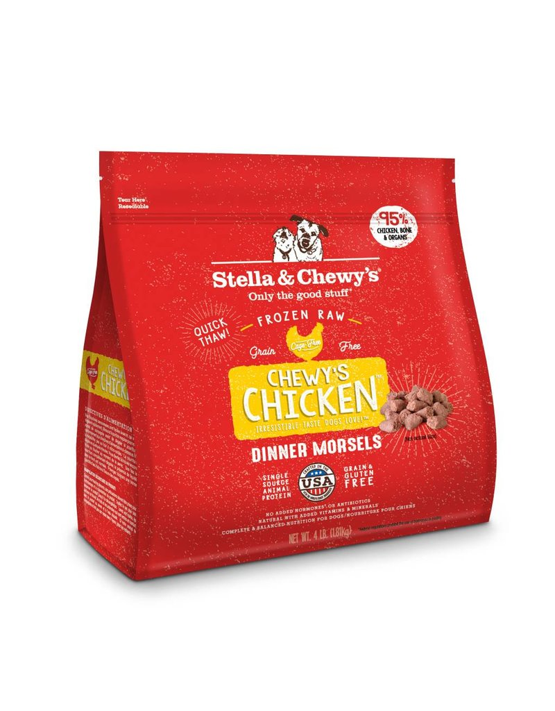 Stella & Chewy's Stella & Chewy's Chicken Frozen Raw Dinner Morsels For Dogs 4lb