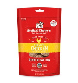 Stella & Chewy's Chicken Freeze-Dried Dinner Patties for Dogs More Choices Available