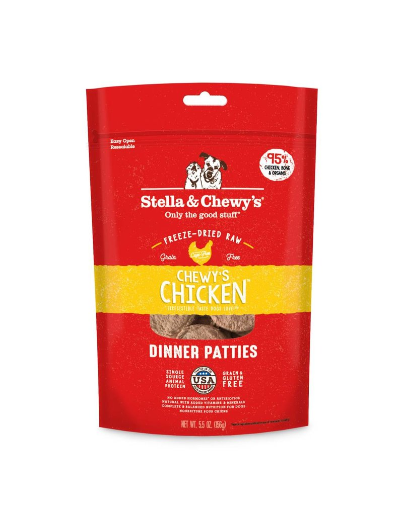Stella & Chewy's Stella & Chewy's Chicken Freeze-Dried Dinner Patties for Dogs