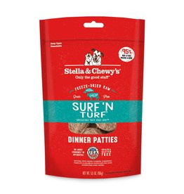 Stella & Chewy's Stella & Chewy's Surf 'N Turf Freeze-Dried Dinner Patties for Dogs