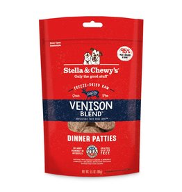 Stella & Chewy's Stella & Chewy's Venison Freeze-Dried Dinner Patties for Dogs