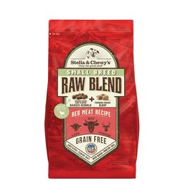 Stella & Chewy's Stella & Chewy's Raw Blend Kibble Red Meat Recipe Small Breed Dry Dog Food 3.5lb