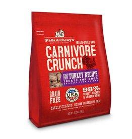 Stella & Chewy's Carnivore Crunch Cage-Free Turkey Recipe Freeze-Dried Dog Treats 3.25oz