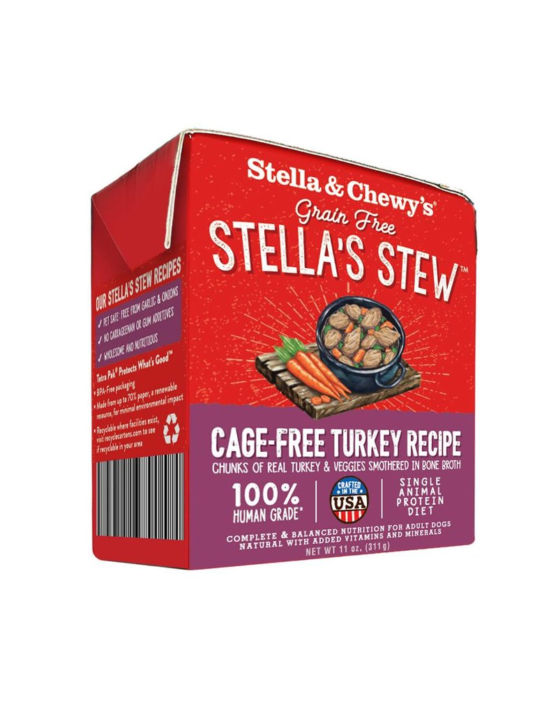 Stella & Chewy's Stella & Chewy's Stella's Stew Cage-Free Turkey Recipe Wet Dog Food 11oz