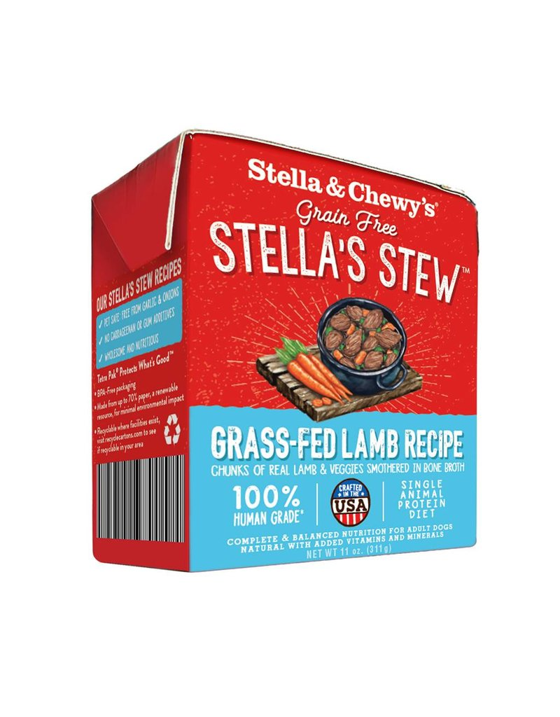 Stella & Chewy's Stella & Chewy's Stella's Stew Grass-Fed Lamb Recipe Wet Dog Food 11oz