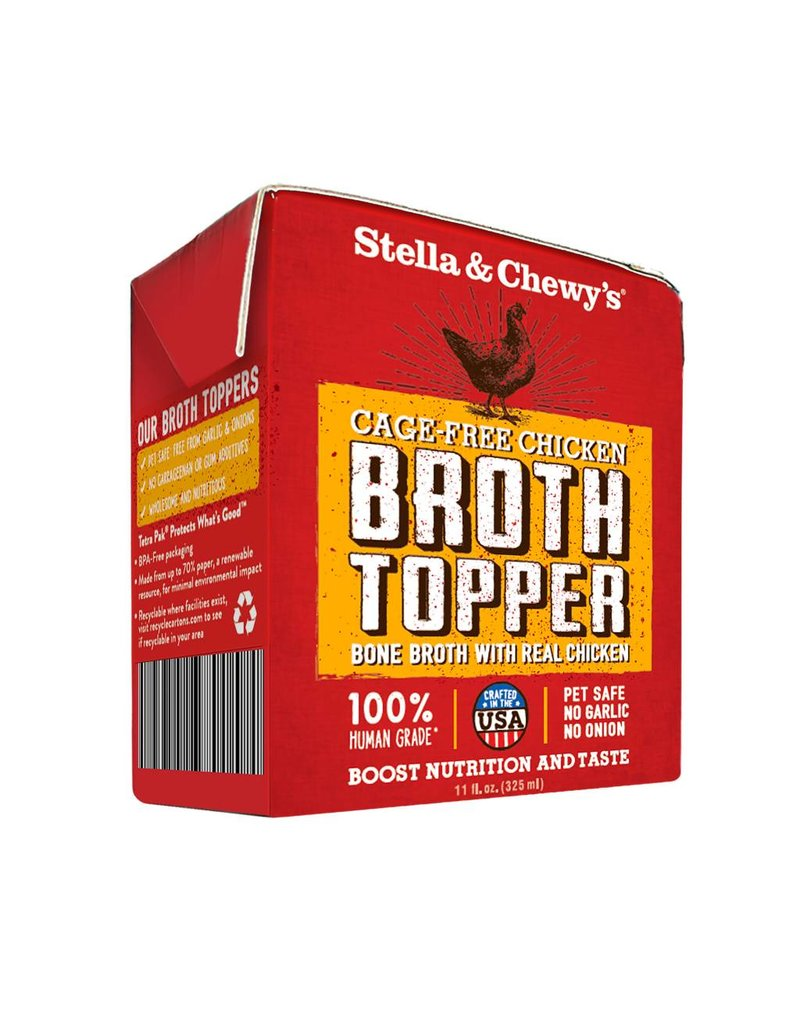 Stella & Chewy's Stella & Chewy's Cage-Free Chicken Broth Topper for Dogs 11oz