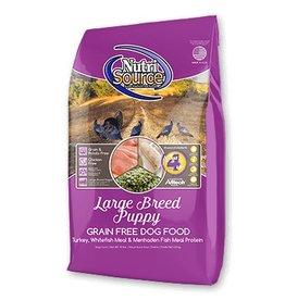 NutriSource Super Premium Pet Foods NutriSource Puppy Large Breed Grain Free Formula Dry Dog Food