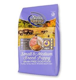 NutriSource Super Premium Pet Foods NutriSource Puppy Small/Medium Breed Grain Free Formula Dry Dog Food