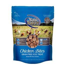 NutriSource Super Premium Pet Foods NutriSource Grain Free Chicken Bites Dog Treats 6oz