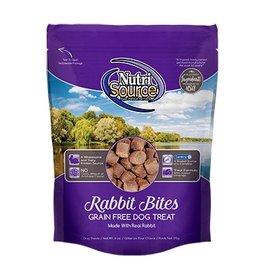 NutriSource Super Premium Pet Foods NutriSource Grain Free Rabbit Bites Dog Treats 6oz