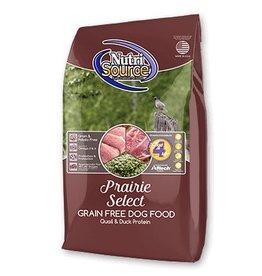 NutriSource Super Premium Pet Foods NutriSource Grain Free Prairie Select Dry Dog Food