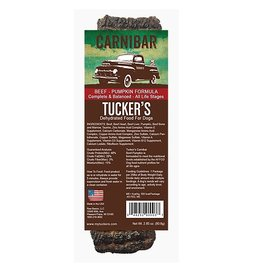 Tucker's Carnibar Dehydrated Beef-Pumpkin Food For Dogs 2.85oz