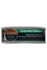 Dave's Pet Food Dave's Pet Food Naturally Healthy Chicken Dinner Canned Cat Food 5.5oz