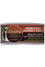 Dave's Pet Food Dave's Pet Food Naturally Healthy Gobbleicious Dinner Canned Cat Food 5.5oz