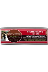 Dave's Pet Food Dave's Pet Food Naturally Healthy Shredded Fishermans Stew Canned Cat Food 5.5oz