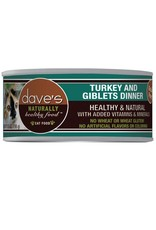 Dave's Pet Food Dave's Pet Food Naturally Healthy Turkey & Giblets Dinner Canned Cat Food 5.5oz