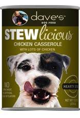 Dave's Pet Food Dave's Pet Food Stewlicious Chicken Casserole Canned Dog Food 13.2oz