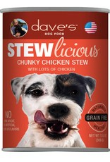 Dave's Pet Food Dave's Pet Food Stewlicious Chunky Chicken Stew Canned Dog Food 13oz