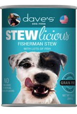 Dave's Pet Food Dave's Pet Food Stewlicious Fisherman Stew Canned Dog Food 13oz