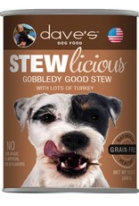 Dave's Pet Food Dave's Pet Food Stewlicious Gobbledy Good Stew Canned Dog Food 13oz
