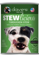 Dave's Pet Food Dave's Pet Food Stewlicious Turducken Stew Canned Dog Food 13oz