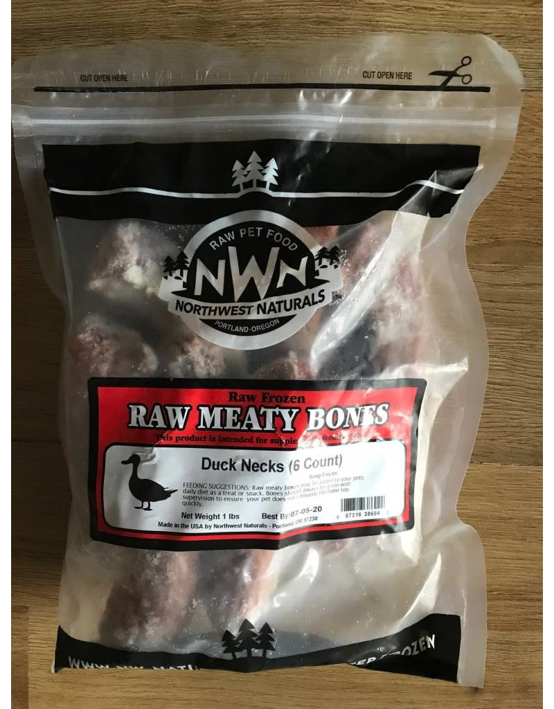 Northwest Naturals Northwest Naturals Raw Frozen Duck Necks for Dogs 16oz