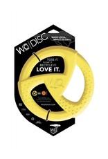 WO Dog Toys Widows & Orphans WO Disc Yellow Dog Toy