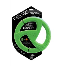 WO Dog Toy Disc Green