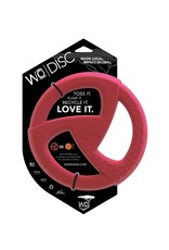 WO Dog Toy Disc Cranberry