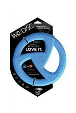 WO Dog Toy Disc Blue