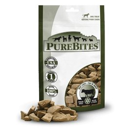 PureBites Freeze-Dried Beef Liver Dog Treats 4.2oz