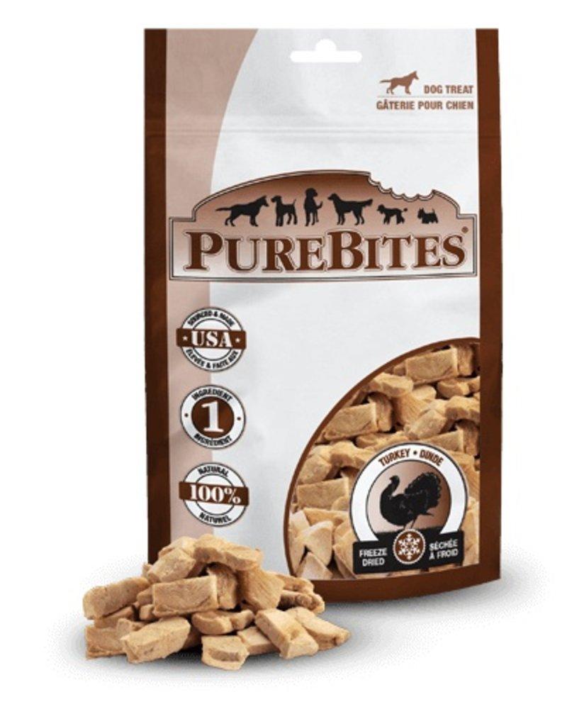 PureBites PureBites Freeze-Dried Turkey Breast Dog Treats 2.47oz