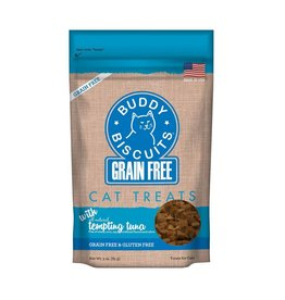 Cloud Star Cloud Star Grain Free Buddy Biscuits Tempting Tuna Cat Treats 3oz