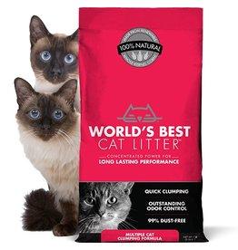 World's Best Clumping Cat Litter Multiple Cat Formula 28lb
