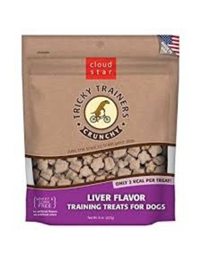 Cloud Star Cloud Star Tricky Trainers Crunchy Liver Flavor Dog Treats  8oz
