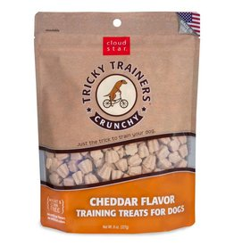 Cloud Star Cloud Star Tricky Trainers Crunchy Cheddar Flavor Dog Treats  8oz