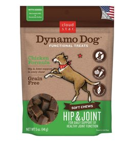 Cloud Star Cloud Star Dynamo Dog Hip & Joint Soft Chews Chicken Formula Dog Treats 5oz