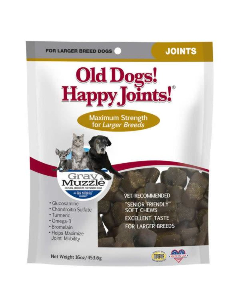 Ark Naturals Ark Naturals Gray Muzzle Old Dog! Happy Joints! Large Breed Dog Treats 16oz