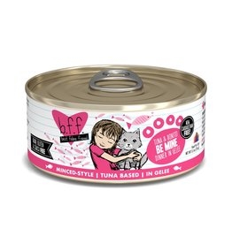 BFF Best Feline Friend BFF Be Mine Tuna & Bonito Dinner Canned Cat Food 5.5oz