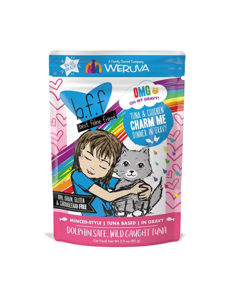 BFF Best Feline Friend BFF Charm Me Tuna & Chicken Dinner Cat Food 3oz Pouch