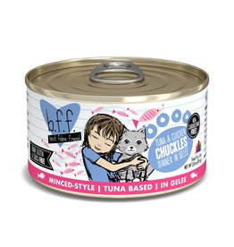 BFF Best Feline Friend BFF Chuckles Tuna & Chicken Dinner Canned Cat Food 3oz